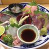ゆりちゃん - 料理写真:ある日のお刺身盛り合わせ