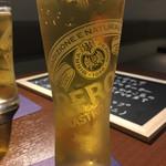 下北沢 ビストロ Bon - ドリンク写真:生ビール(700円)  イタリア