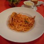 BUNZO - ワタリガニのトマトクリームパスタ