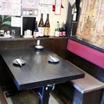 とぅるり - テーブル席