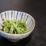 とぅるり - 塩ゴマピーマンナムル(選べるお通し)