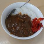 煮干鰮らーめん 圓 - ブタカレー