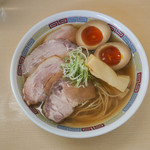煮干鰮らーめん 圓 - 料理写真:塩特性ラーメン