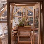 ENEKO Tokyo - 2階のピクニック部屋に案内
