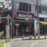 マクドナルド - 店構え(^∇^)