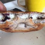手作りパン工房 バーゼル - ベーグル+クリームチーズトッピング