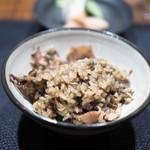 傳 - ホタルイカの炊き込みご飯