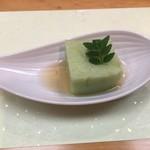 107542352 - グリーンピースの豆腐 2019.04