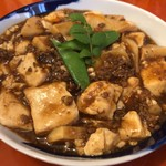 ンケリコ - 筍入り麻婆豆腐 定食1080円