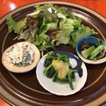 ンケリコ - 定食のサラダ