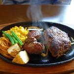 ステーキ。山 - ハンバーグ&カットステーキ