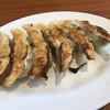二両半 - 料理写真:餃子セット+100円(税込) ※先に餃子が到着