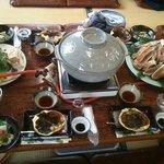 松島屋 - 蟹味噌甲羅最高です