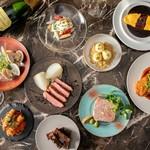 bar à vin PARTAGER - 料理写真:フレンチを小皿でカジュアルに