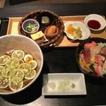 ふた川 - 季節のランチ2700円