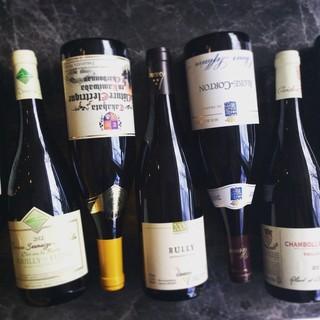 グラスワイン常時20種類