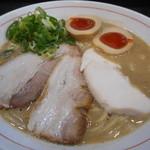 107553374 - 鶏白湯+味玉