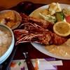 うえむら - 料理写真:特大エビフライ定食(1750円)