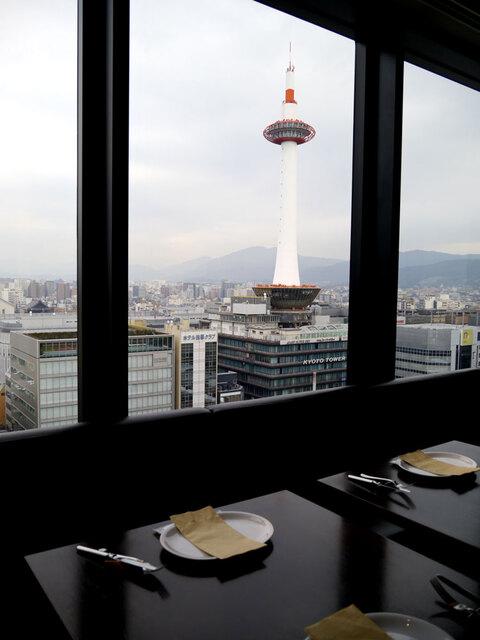 ザ キッチン サルヴァトーレ クオモ 京都 - 眺めが素晴らしいです。