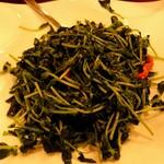 Yokohamachuukagaichuugokuhanten - 豆苗のガーリック炒め