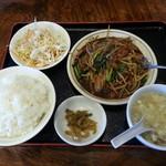 酔東坡 - 料理写真:ニラレバー炒め定食
