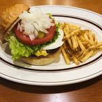 SUN DOVE DINER - 料理写真:エッグチーズバーガー
