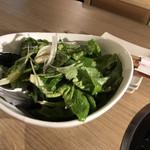 浅草焼肉 たん鬼 - たん鬼サラダ