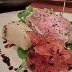 鶴のひとこえ - ジャムとイベリコ豚美味しかった!
