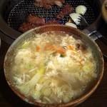 百済 - 卵スープ