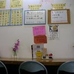 京都だるまや食堂 - カウンター席のみの店内