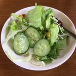 マナ - セットのサラダ