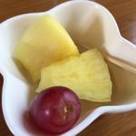マナ - セットのフルーツ