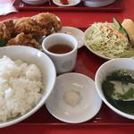 中国料理・北京楼 - 料理写真:唐揚げ定食 1,000円