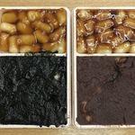 107577369 - 「胡麻&醤油」と「餡&醤油」