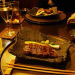 ひだまり庵 - ステーキコースのシャトーブリアン(4800円)