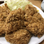 とんかつ山家 - 大ヒレ定食