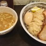 づゅる麺池田 - 味玉塩つけ麺+炙り豚バラチャーシュー
