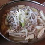 もみじ亭 - 料理写真:牛肉ほうとう