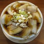 107594297 - チャーシュー中華そば 麺大盛
