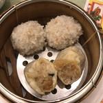 広東料理 吉兆 - もち米焼売 & もち米肉団子