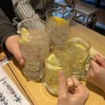 107597594 - レモン乾杯