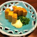 日本料理 鞆膳 - ほんのり甘いおばあちゃんの卵焼きみたい。