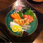 日本料理 鞆膳 - お刺身の盛合せ