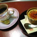 10760137 - 特製クリームブリュレとコーヒー(800円)