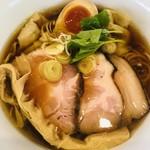 中華そば 和渦 TOKYO - 料理写真:特製醤油ラーメン
