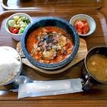 コッテジ - 料理写真:石焼チーズタッカルビ ランチ