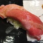第三春美鮨 - シビマグロ 大トロ 216kg 腹上二番 熟成10日目 延縄漁 和歌山県那智勝浦