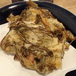 サンサンゴゴ - もずくの天ぷら