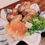 牡蠣ひよっこ商店 - 牡蠣の塩焼き