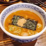 三田製麺所 - うぅたまらん、濃厚な魚介豚骨系スープ